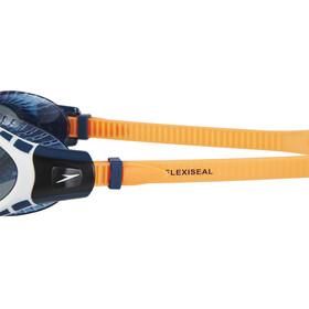 speedo Futura Biofuse Flexiseal Triathlon Goggles Unisex, fluo orange/white/smoke